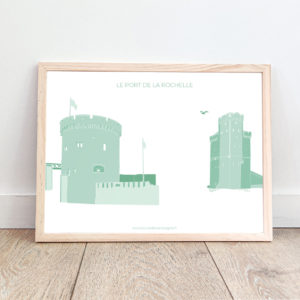 Affiche La Rochelle – Le Port