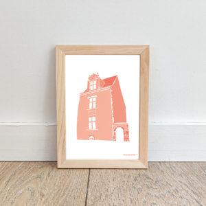 Affiche La Roche sur Yon – Maison Renaissance