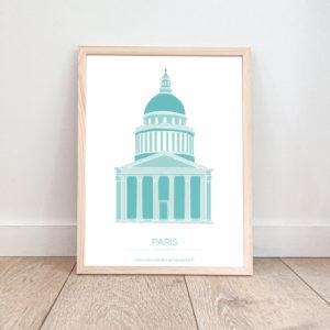 Affiche Paris – Panthéon