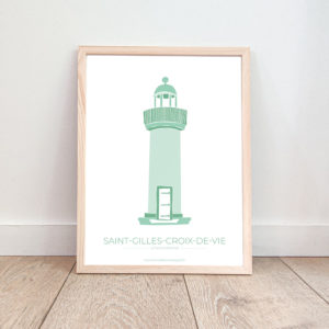 Affiche Saint Gilles Croix de Vie – Tour Joséphine