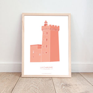 Affiche Les Sables d'Olonne – La Tour d'Arundel