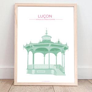 Affiche Luçon – Kiosque