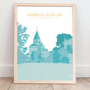 Affiche Mareuil-sur-Lay