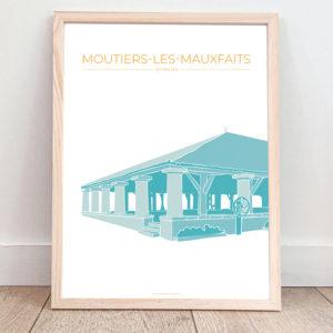 Affiche Moutiers-les-Mauxfaits – Les Halles