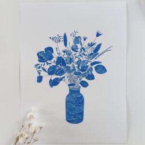 Affiche bouquet