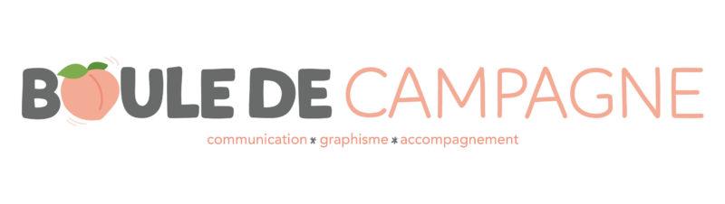 logo boule de campagne - communication, graphisme, accompagnement