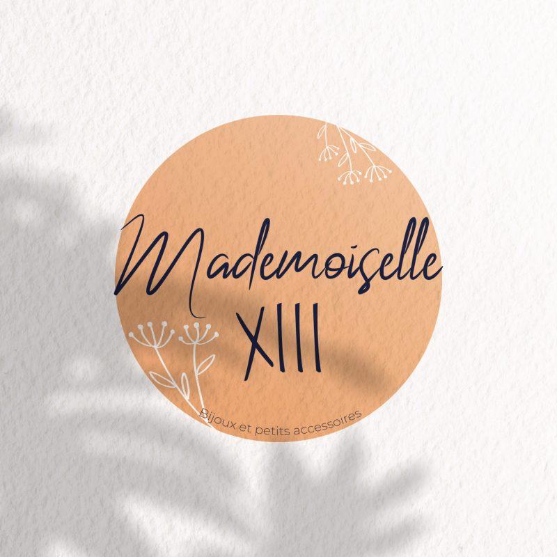 logo mademoiselle XIII bijoux et petits accessoires