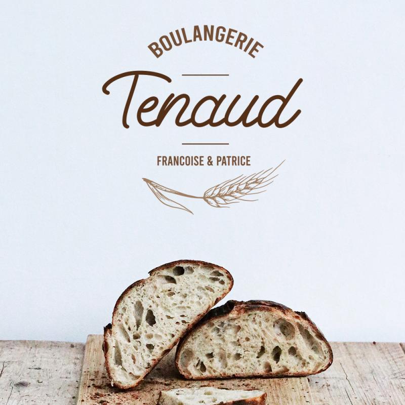 logo boulangerie tenaud, françoise et patrice